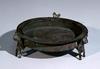 A Seljuk Bronze 3 Legged Plate
