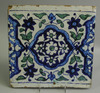 A Multan Glazed Pottery Tile, Islamic, Indian, Pakistan, Persian