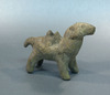 An Unglazed Pottery Camel Figurine