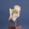 An Amlash Pottery Bull's Head  Rhyton, Iran ca. 1000 BC