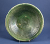 A Nishapur or Samanid Green Glazed Pottery Bowl
