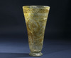 Roman Period Glass Beaker with Later Embelishment.