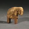 Islamic Wood Figure of an Elephant