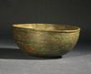 Small Seljuk Bronze Bowl with Cufic Inscription