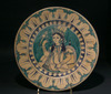 Multan Painted and Glazed Pottery Plate