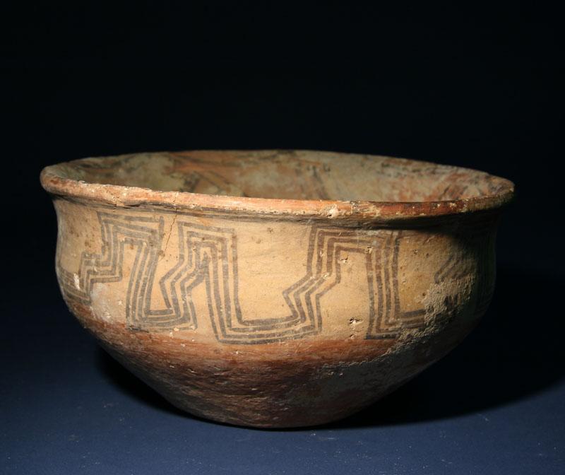 Northwest Iranian Pottery Bowl