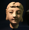 Terracotta Head, Gandahra or Central Asia