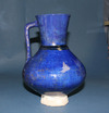 Blue Glazed Pottery Ewer