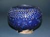 Blue Glazed Pottery Bowl
