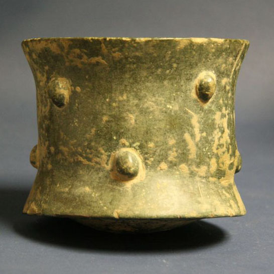 Islamic Bronze Mortar, Seljuk Period, Persia 12th Century AD