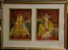 Indian Miniature Paintings on Ivory