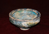 Kashan Blue Glazed Pottery Bowl
