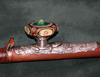 Chinese Bamboo Opium Pipe