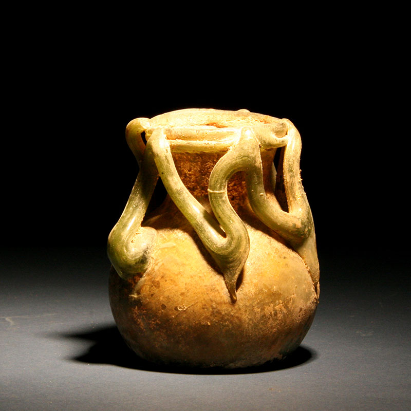 Syrian Glass Jar, 2nd - 3rd century AD