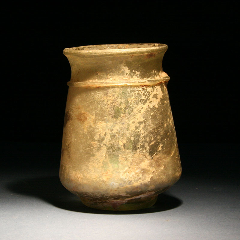 Roman Glass Cup, 2nd - 3rd century AD