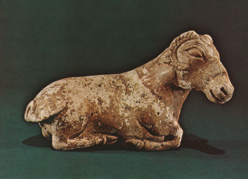 Ram Figurine, Achaemenid period, 6th-4th c. BCE