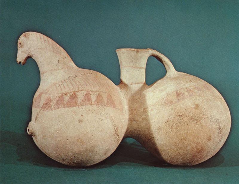 Horse Rhyton, Northwestern Iran, l2th-l 0th c. BCE