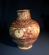 A Large Kashan Luster Jar. Ca. 12th -13th century AD