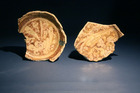 Luster Bowl Fragments with Calligraphy
