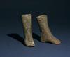 Pair of Terracotta Shoes, Northwest Iran, ca. 2000 BC