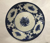 Blue and White Pottery Dish, Persian 19th Century