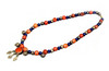 Persian Carnelian & Silver Beaded Necklace